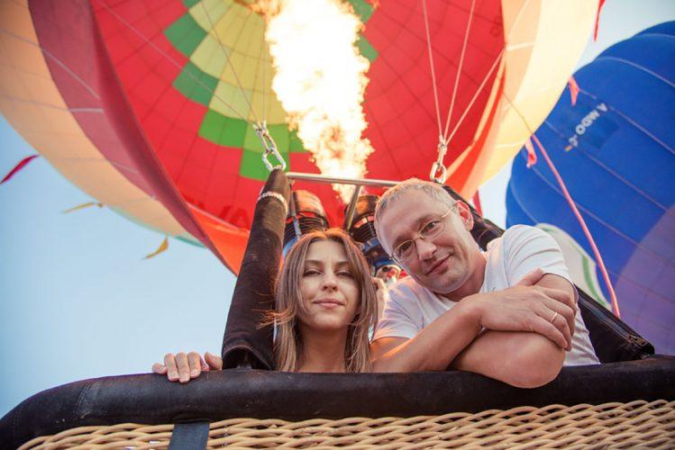 воздушном шаре