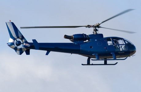полет на вертолете gazelle