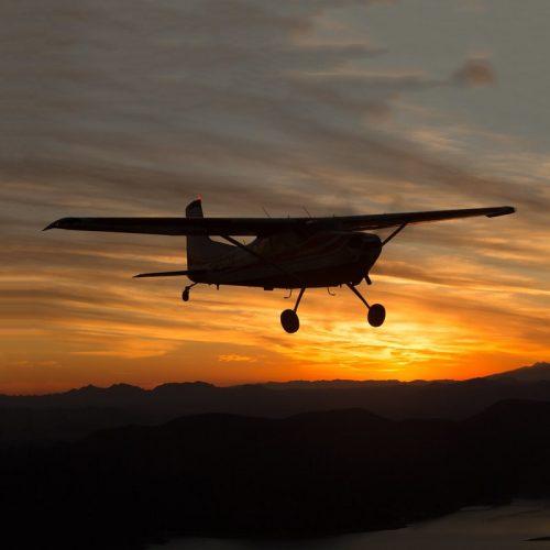 ночные полеты на самолете