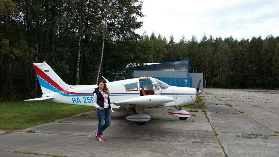 самолете
