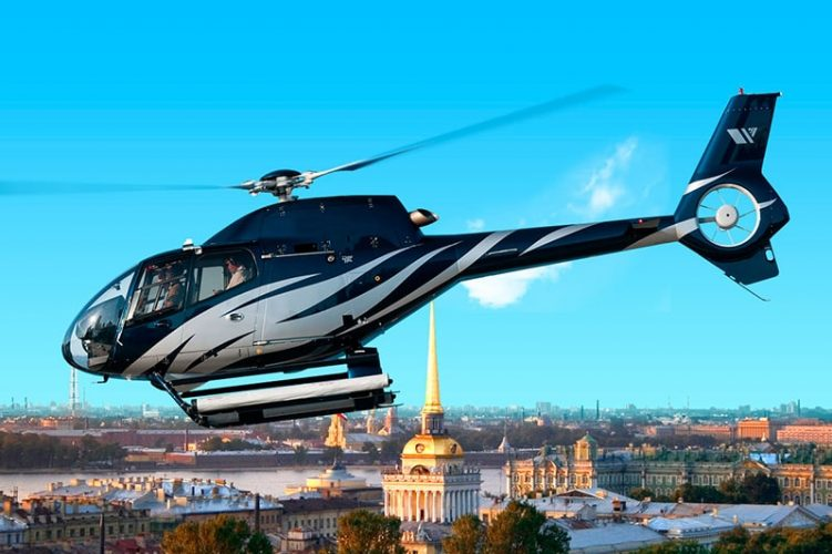 полеты на вертолете спб