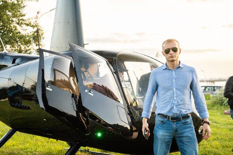 полеты на вертолете в петербурге